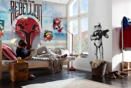 Star Wars Rebels photo wall